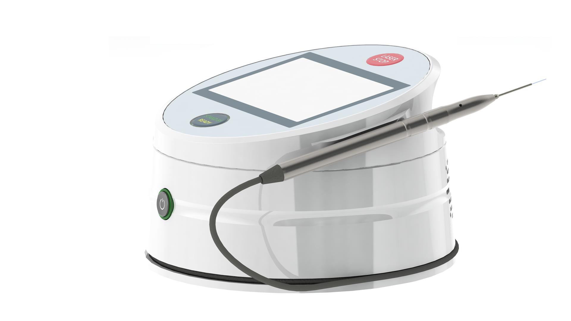 Compact dental laser